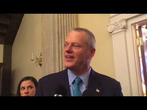 'My calendar was full': Massachusetts Gov. Charlie Baker says he's not attending event with Vice President Mike Pence