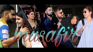 Virat kohli love with anushka sharma Atif Aslam new song musafir