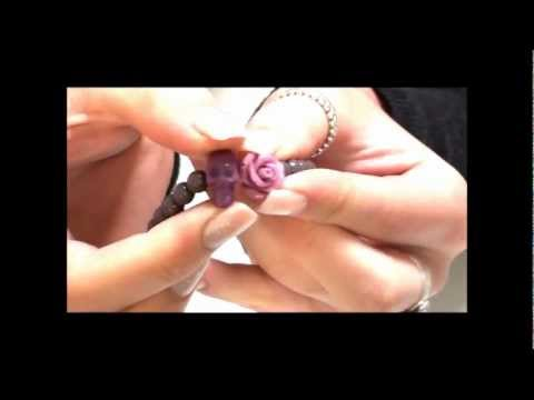 Dirty Ruby Purple Rock N Rose Collection at Argento