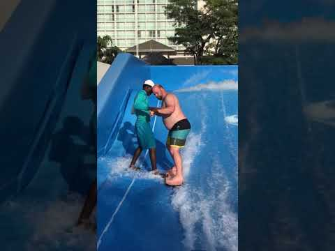 Brother Wease - Viral Video: Man Wipes Out on Surf Machine and It's Hysterical