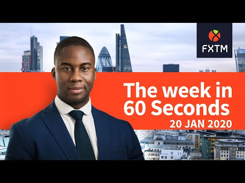 Corporate earnings, central banks and Gold struggle: The week in 60 seconds | FXTM | 20/01/2019