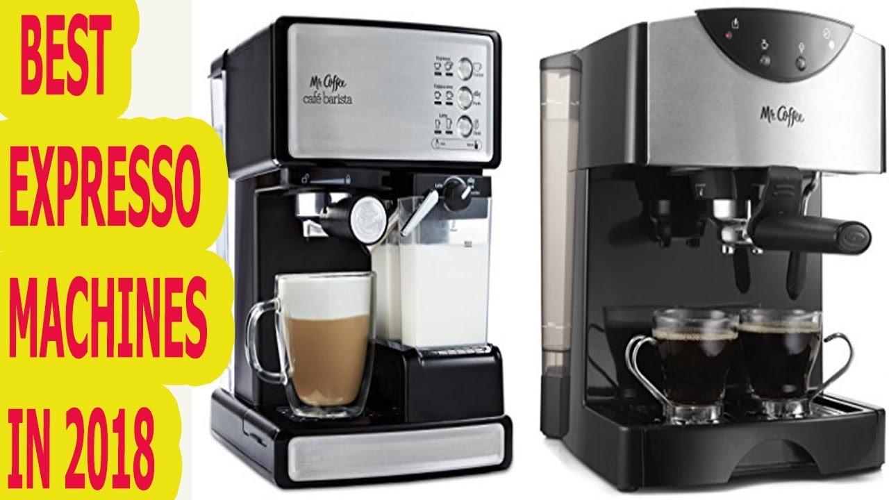 Best Espresso Machines In 2018 Which Is The Best Expresso Machine