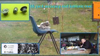 05. Precision Ballistics Mako Slugs - Falcon Prairie 50 yard accuracy and ballistic test