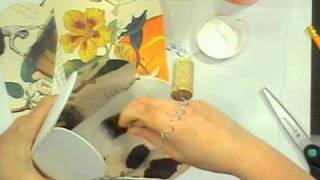 How To Make A Vintage Cork Basket (Andrea Currie on The Wednesday C&T Publishing Show)