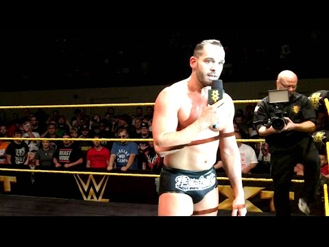 """Tye Dillinger receives a """"Perfect"""" sendoff at an NXT Live Event"""