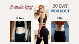 I TRIED PAMELA REIF WORKOUT FOR 30 DAYS | Before & After