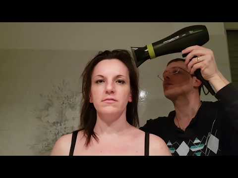 ASMR hair drying spa roleplay me and my wife  - mental relax