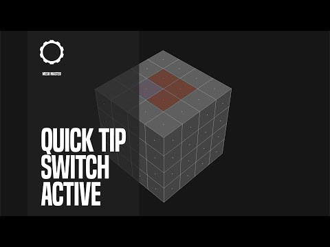 QuickTip: Swtich Active Selected In Blender