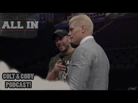 Conversation with Cody Rhodes from ALL IN (Art of Wrestling)