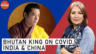 Why Bhutan's King is trekking to stop Covid & walking between Asian giants, India & China