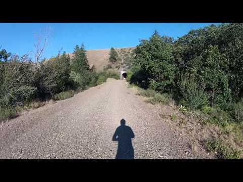 Iron Horse Trail, Biking through the Tunnels