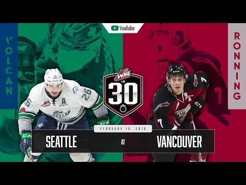 WHL IN 30    Seattle Thunderbirds vs Vancouver Giants – February 09, 2018