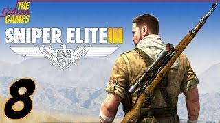 Прохождение Sniper Elite 3 [HD|PC] - Часть 8 (Антиснайпер)