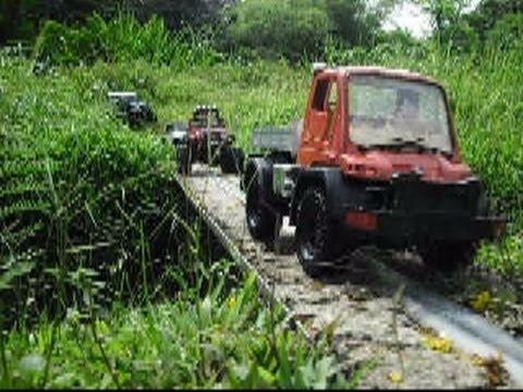 10 Trucks Offroad Bangkit Road Defender 90 xxx Traction Wrangler Unimog Honcho Dingo Summit