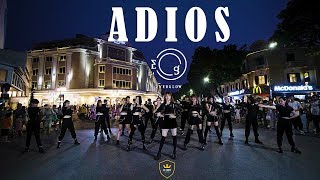 [KPOP IN PUBLIC CHALLENGE] EVERGLOW (에버글로우) - Adios | Dance cover by W-Unit from Vietnam