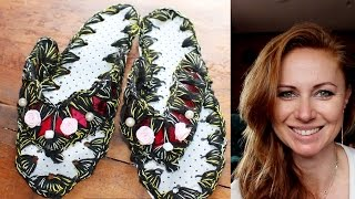 recycling diy how to make slippers with plastic bottle