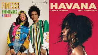 Finesse in Havana - Bruno Mars and Camila Cabello MASHUP!