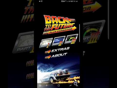 Back To The Future Flux Capacitor App In 2018!