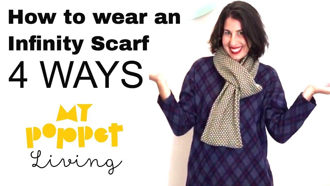 infinity scarf wear ways