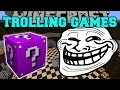 Minecraft: THE ABYSS TROLLING GAMES - Lucky Block Mod - Modded Mini-Game