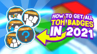 How to get ALL tower of hell badges | Roblox ToH badges tutorial 2020