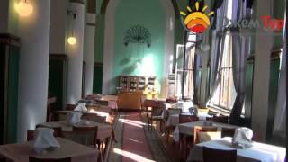 jamtour.org санаторий Амра (Гагра, Абхазия) столовая(Один из самых красивых санаториев Гагр и всей Абхазии -- это «Амра». Он построен в старой части курорта, благ..., 2014-05-25T02:45:46.000Z)