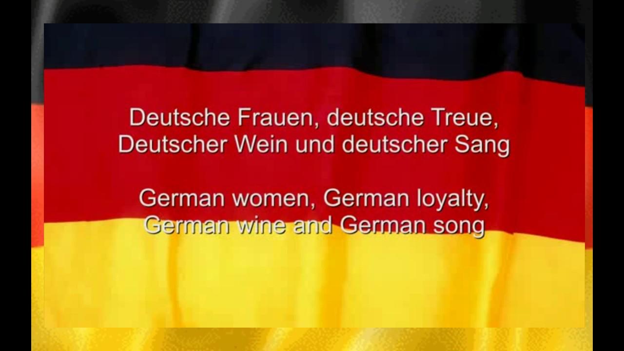 Das Deutschlandlied Germany National Anthem With German