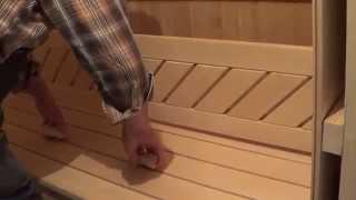 Отделка парилки. Часть 5. (Steam room finish - 5)(Это видео создано с помощью видеоредактора YouTube (http://www.youtube.com/editor), 2015-06-27T19:55:05.000Z)