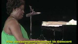 Watch Sarah Vaughan Once In A While video