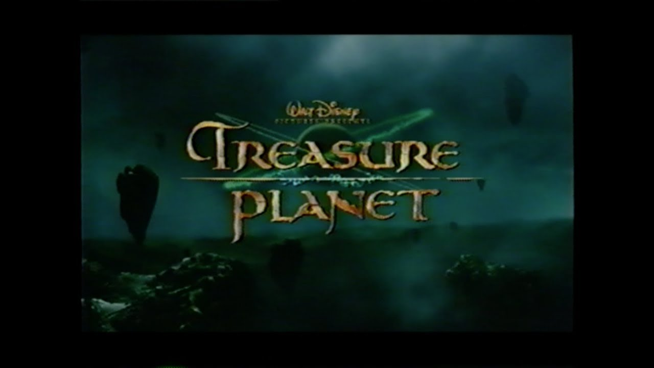 treasure planet movie trailer vhs 2002 youtube