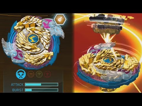 NEW GOLD NIGHTMARE LUINOR L3 GAMEPLAY | Beyblade Burst Evolution God APP Gameplay PART 54