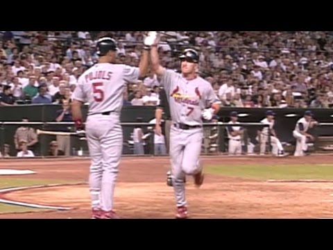 2001 NLDS Gm5: Drew homers to tie it in the 8th