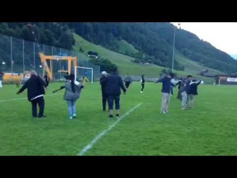Swiss glarus summer party circle todancing 2016