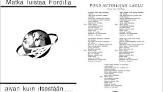 FORD AUTOILIJAN LAULU 1 ja 2 Georg Malmstén ja Dallapé-orkesteri v.1937