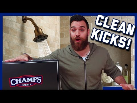 UNBOXING: Clean Ass Sneaker From @ChampsSports