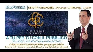 Pier Giorgio Caria - A TU PER TU CON IL PUBBLICO