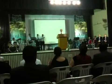 Pastor Tan in Bangalore conference