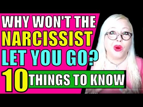 Why the Narcissist Won't Leave You Alone and What to Do About It
