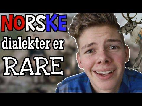 NORSKE DIALEKTER ER RARE!