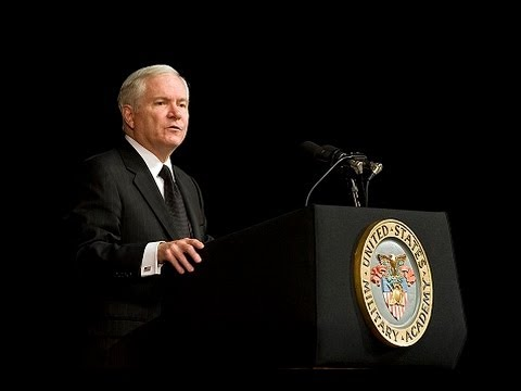 Robert M. Gates - Final West Point Academy Speech