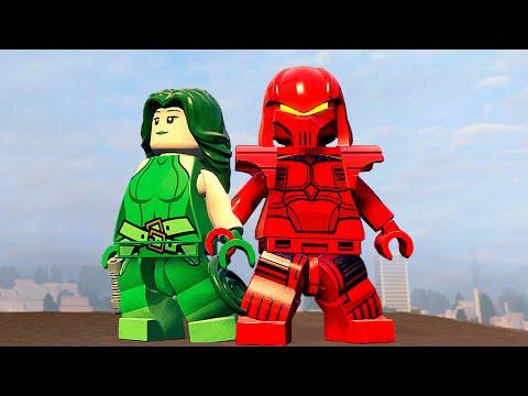 LEGO Marvels Avengers Прохождение - Часть 1 - ОБЩИЙ СБОР!