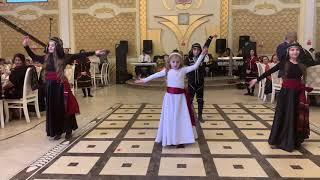 Грузинский танец на свадьбе в Белокане! Balaken toyu!
