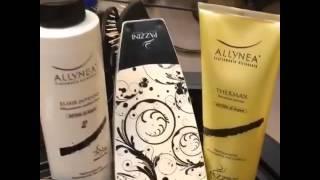 Վնասված մազերի բուժում և հարթեցում Ալլինեա օրգանիկ նյութերի միջոցով