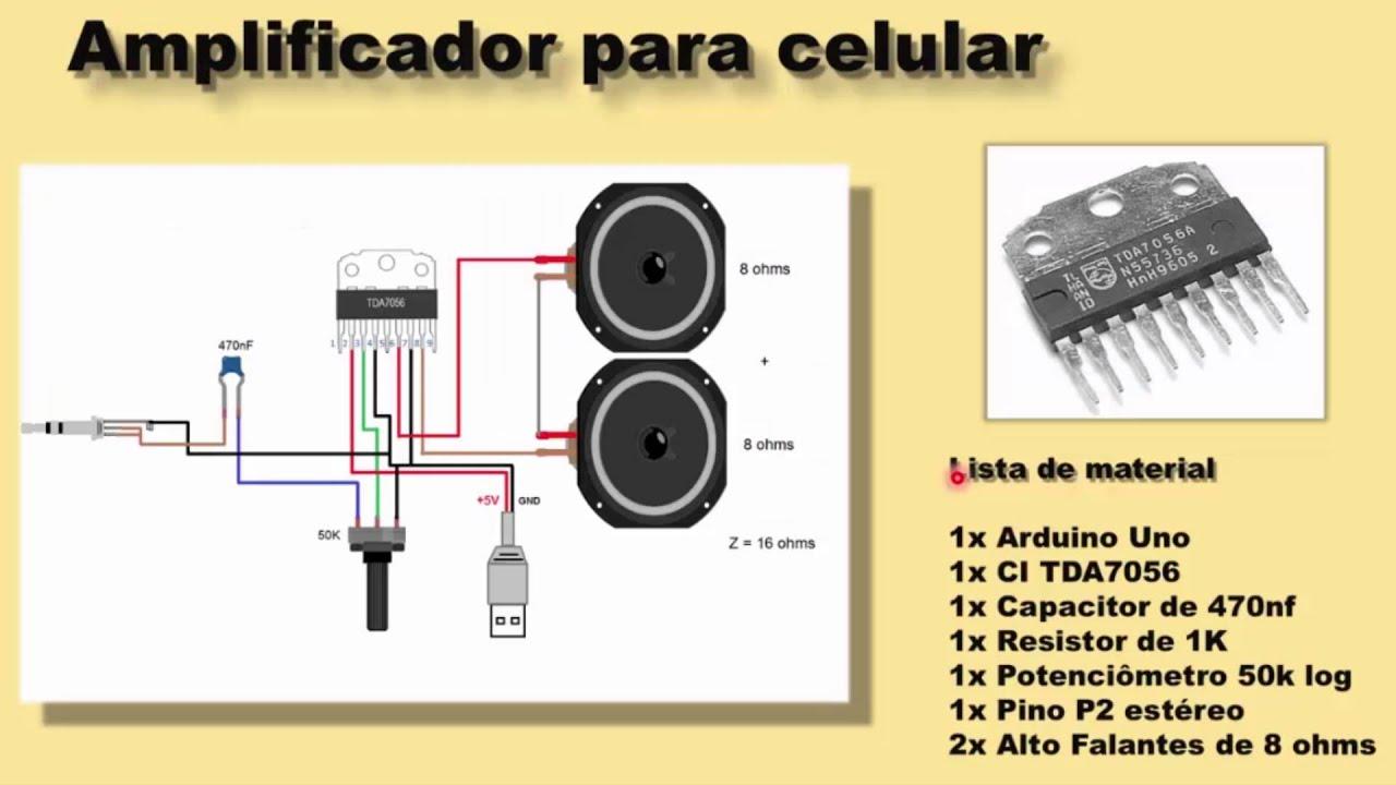 Amplificador para arduino ou celular tutorial youtube for Amplificadores de wifi potentes