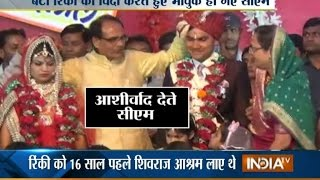 MP CM Shivraj Singh's 'Adopted' Daughter Got Married