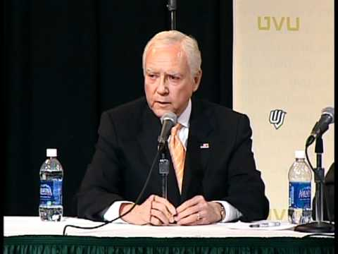 UVU: The Right Way to Grow the Economy