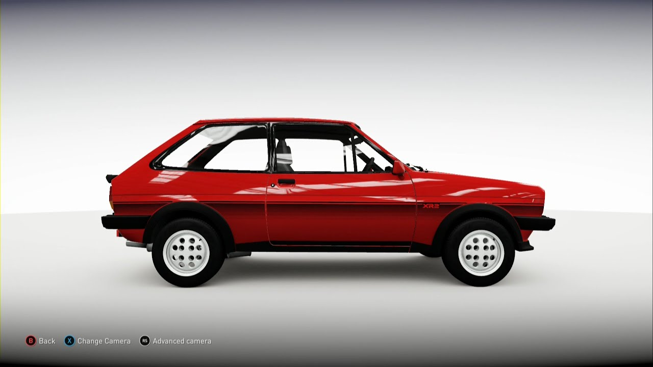 forza horizon 2 1981 ford fiesta xr2 youtube. Black Bedroom Furniture Sets. Home Design Ideas