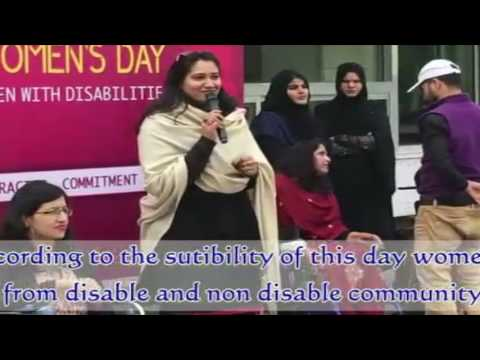 170306 Saqib Jawed , Blind activist working for the Disabled in Pakistan