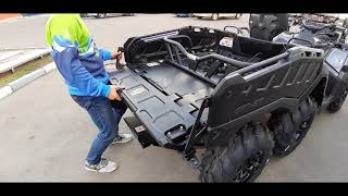 обзор видео  Can-Am 2019 BRP  OUTLANDER 6x6 1000 max  T3  Pro