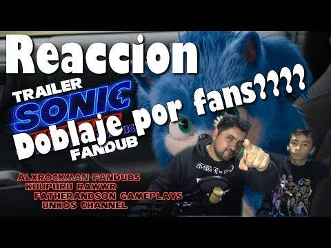 Sonic Trailer Fan Dub Latino  Reacción - With Crush40 Music